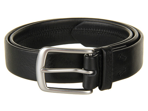 John Varvatos - 32mm Harness on Tubular Strap (Black) Men's Belts