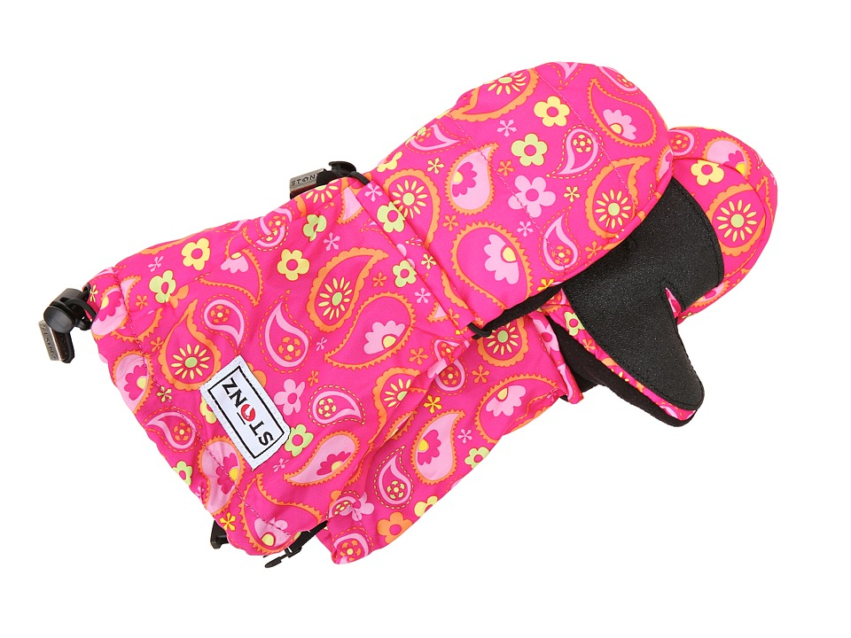 Stonz - Mittz (Toddler/Little Kid) (Paisley Pink/Fuchsia) Liner Gloves