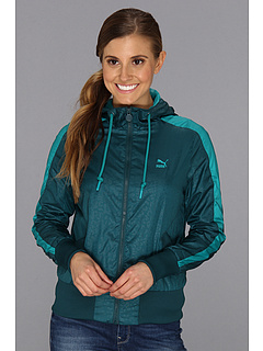 SALE! $39.99 - Save $32 on PUMA Windbreaker 56397 (Deep Teal Green) Apparel - 44.46% OFF $72.00