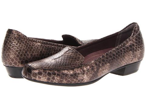 Clarks - Timeless (Bronze Snake Leather) Women