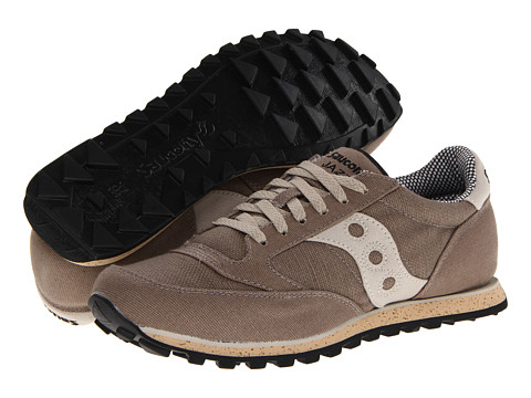 Saucony Originals - Jazz Low Pro Vegan (Stone) Men's Classic Shoes