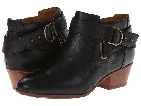 Clarks - Spye Belle (Black Leather) Women's Boots