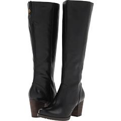 Clarks Mission Brynn (Black Leather) Footwear