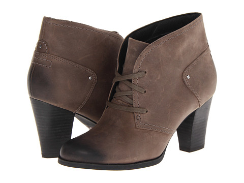 Clarks - Alpine Melt (Dark Grey Leather) Women
