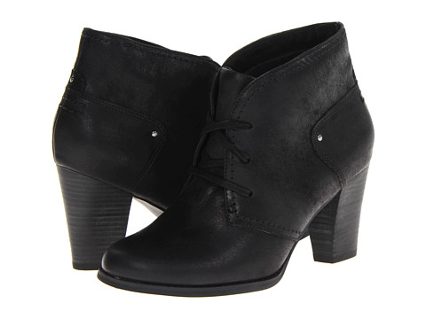 Clarks - Alpine Melt (Black Leather) Women