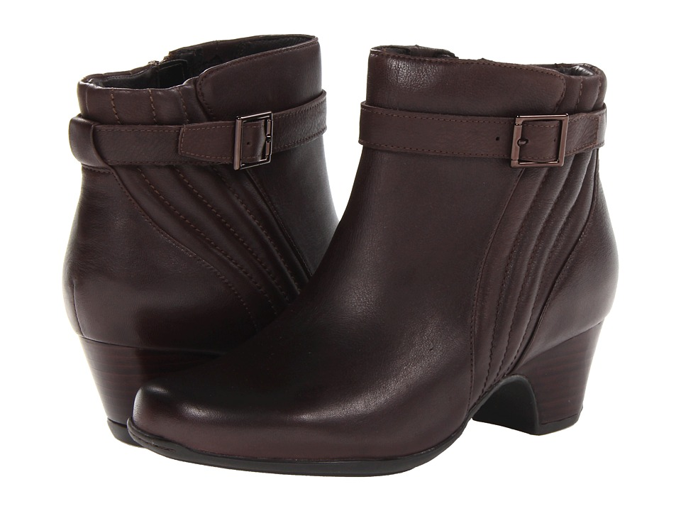 Clarks - Leyden Scale (Brown Leather) Women