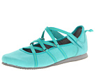 Clarks - Poppy Bloom (Aqua Fabric/Green) - Clarks Shoes