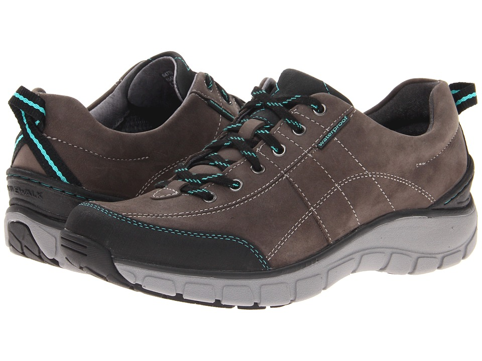 Clarks - Wave.Trek (Grey Leather) Women's Lace up casual Shoes