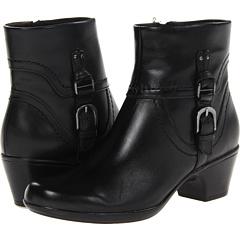 Clarks Ingalls Tweed (Black Leather) Footwear