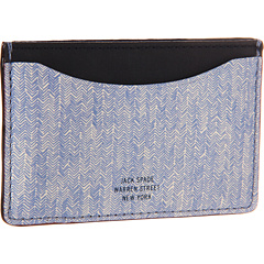 SALE! $64.99 - Save $50 on Jack Spade Credit Card Holder (Blue) Bags and Luggage - 43.49% OFF $115.00