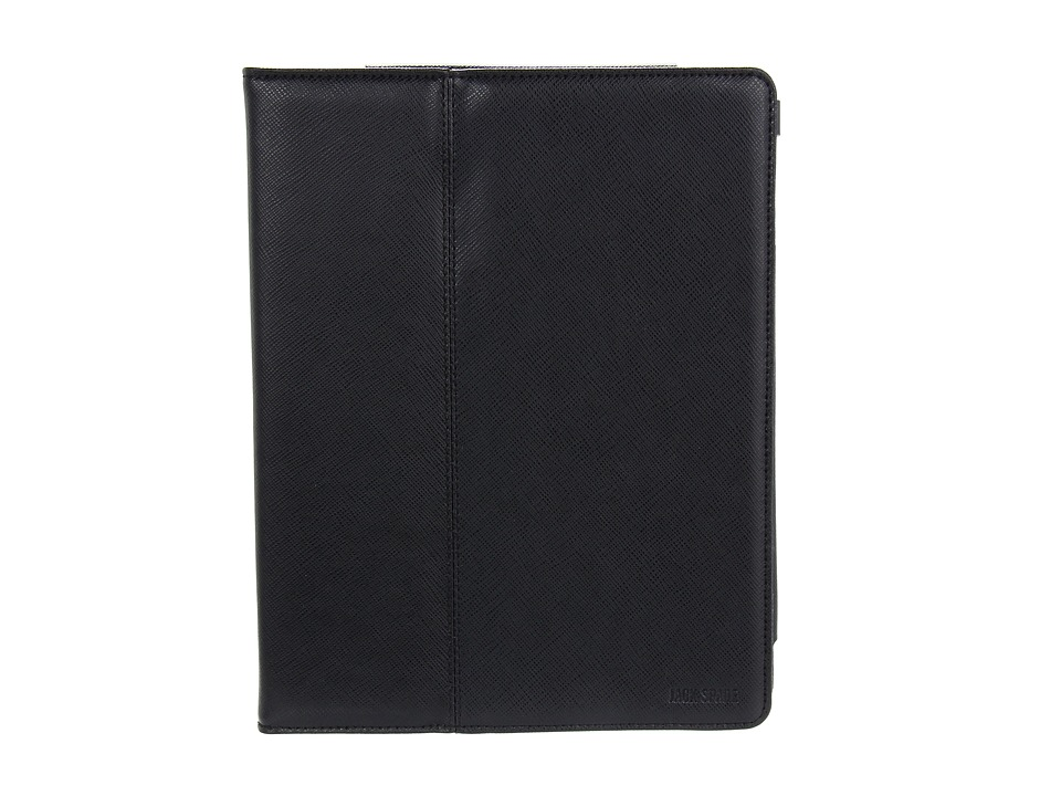Jack Spade - Hardcover Stand Tablet Case (Black) Computer Bags