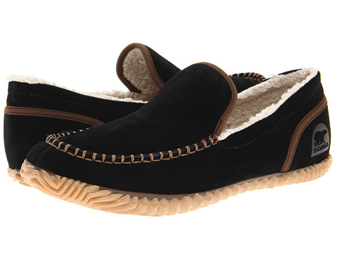 SOREL Sorel Dude Moc (Black) Men's Slippers