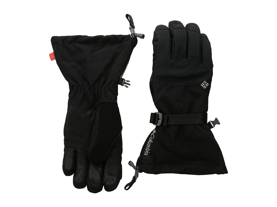 Columbia - Karako Pass Glove (Black) Extreme Cold Weather Gloves