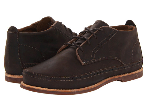 OluKai - Honolulu Boot (Dark Wood/Mustang) Men's Shoes