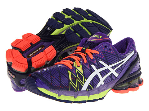 ASICS - Gel-Kinsei 5 (Ultra Marine/White/Purple) Women's Running Shoes