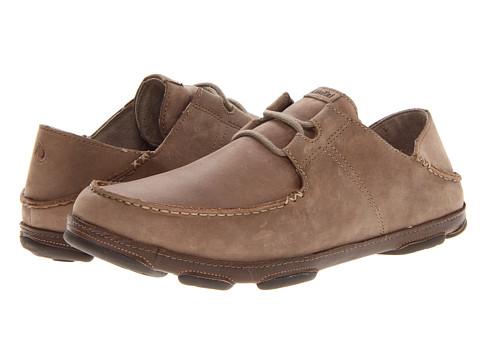 OluKai - Ohana Lace Up Nubuck (Clay/Mustang) Men's Shoes