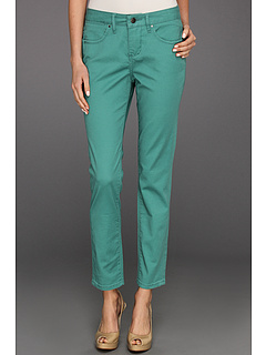 SALE! $15.8 - Save $63 on Jag Jeans Jane Slim Ankle Twill (Agate Green) Apparel - 80.00% OFF $79.00