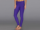 adidas - Ultimate Long Tight (Blast Purple/Black) - Apparel