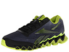 Reebok - ZigUltra (Steel/Black/Flat Grey/Sonic Green/Neon Yellow)