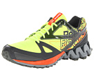 Reebok - ZigKick Trail 1.0 (Neon Yellow/Gravel/Flat Grey/White/Blazing Orange)
