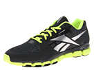 Reebok RealFlex Transition 4.0 (Gravel/Neon Yellow/Black) Men's Running Shoes
