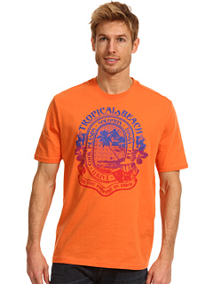 SALE! $13.2 - Save $17 on Caribbean Joe Tropical Beach Tee (Tropical Orange) Apparel - 56.00% OFF $30.00