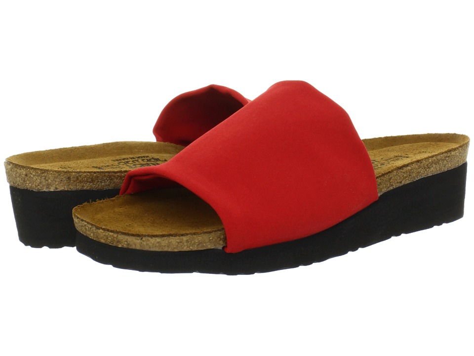 Naot Footwear - Alana (Flame Red Stretch) Women