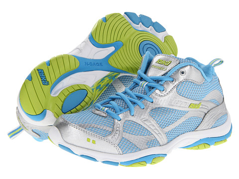 Ryka - Enhance 2 (Chrome Silver/Carolina Blue/Limelight/White) Women's Cross Training Shoes