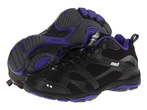 Ryka - Enhance 2 (Black/Purple Rain/Iron Grey/Chrome Silver) Women's Cross Training Shoes