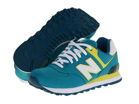 New Balance Classics - WL574 - Alpine (Teal) Women's Classic Shoes