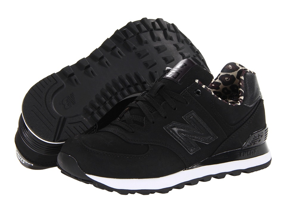 New Balance Classics - WL574 (Black SP 2013) Women's Lace up casual Shoes