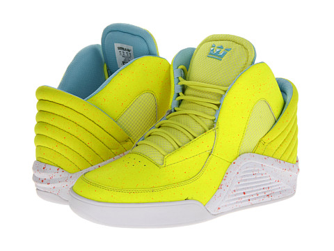 Supra - Chimera (Highlighter/Red) Men's Skate Shoes