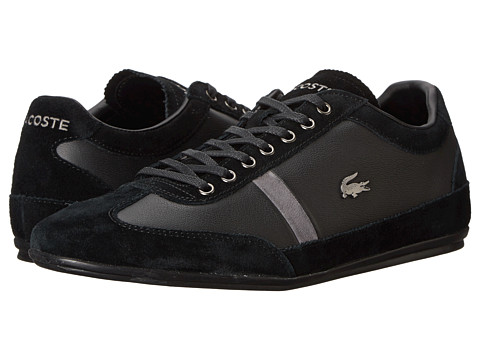 Lacoste - Misano 22 (Black) Men's Lace up casual Shoes