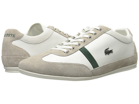 Lacoste - Misano 23 (Off White) Men's Lace up casual Shoes