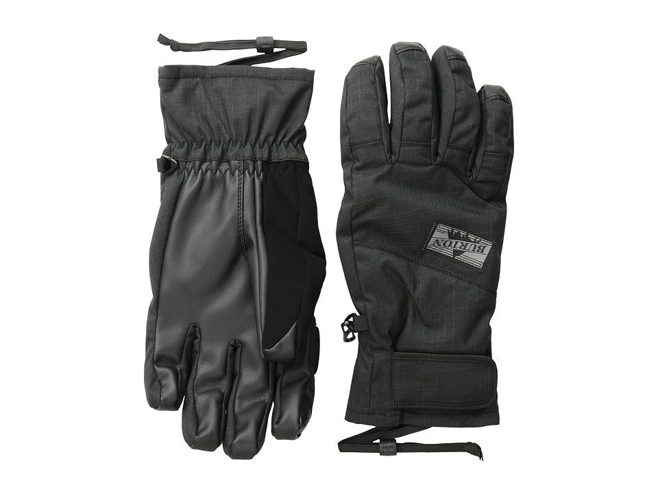 Burton - Approach Under Glove (True Black) Snowboard Gloves
