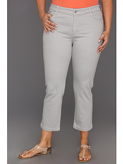 SALE! $34.99 - Save $79 on NYDJ Plus Size Plus Size Audrey Ankle Jean (Moonstone Grey) Apparel - 69.31% OFF $114.00