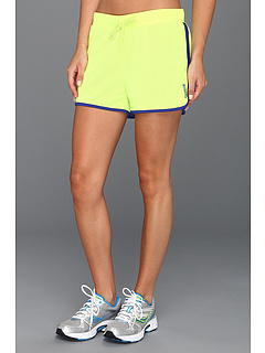 SALE! $11.99 - Save $13 on Reebok Workout Ready 4 Mesh Short (Neon Yellow) Apparel - 52.04% OFF $25.00