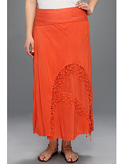SALE! $41.99 - Save $98 on XCVI Plus Size Plus Size Westwood Maxi (Tangelo) Apparel - 70.01% OFF $140.00