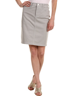 SALE! $49.99 - Save $38 on NYDJ Rebecca Skirt Fine Line Twill (Moonstone Grey) Apparel - 43.19% OFF $88.00