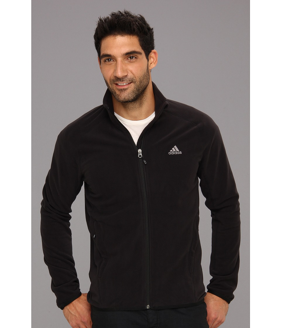 adidas Outdoor - Hiking Fleece Jacket (Black) Men's Coat