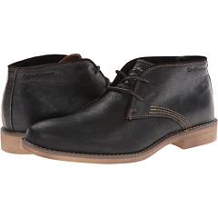 Calvin Klein Jeans Orrick (Black Leather) Men's Lace-up Boots