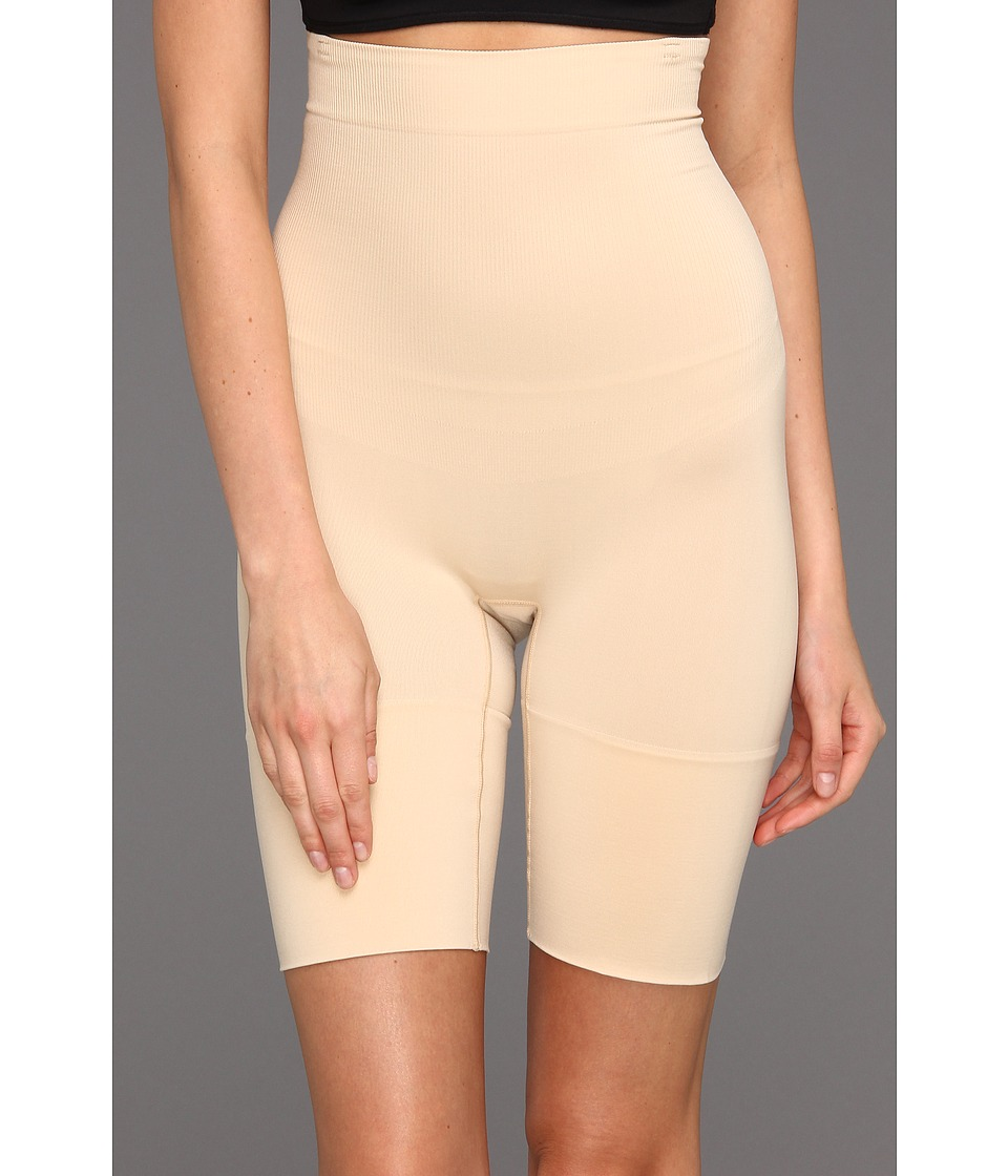 Wacoal - Cool Definition Hi-Waist Long Leg Shaper (Natural Nude) Women's Underwear