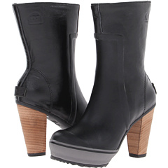 SOREL Medina Rain Tall (Black) Footwear
