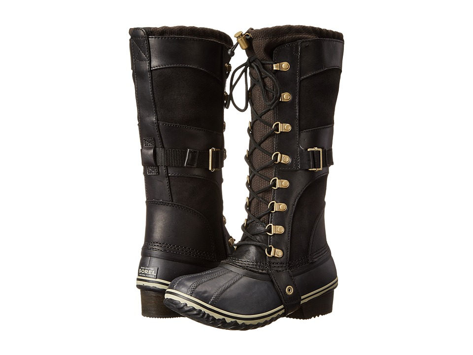 SOREL - Conquest Carly (Black) Women's Cold Weather Boots