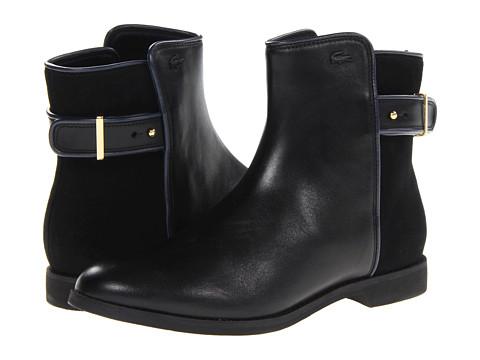 2d875db5b06b ... UPC 887255318254 product image for Lacoste Rosemont Chelsea (Black)  Women s Dress Pull-on ...