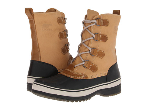 SOREL Kitchener Caribou (Curry/Stone) Men's Waterproof Boots
