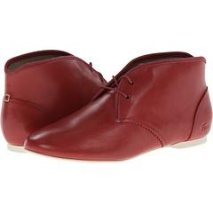Lacoste Haxby SE (Dark Red White) Footwear