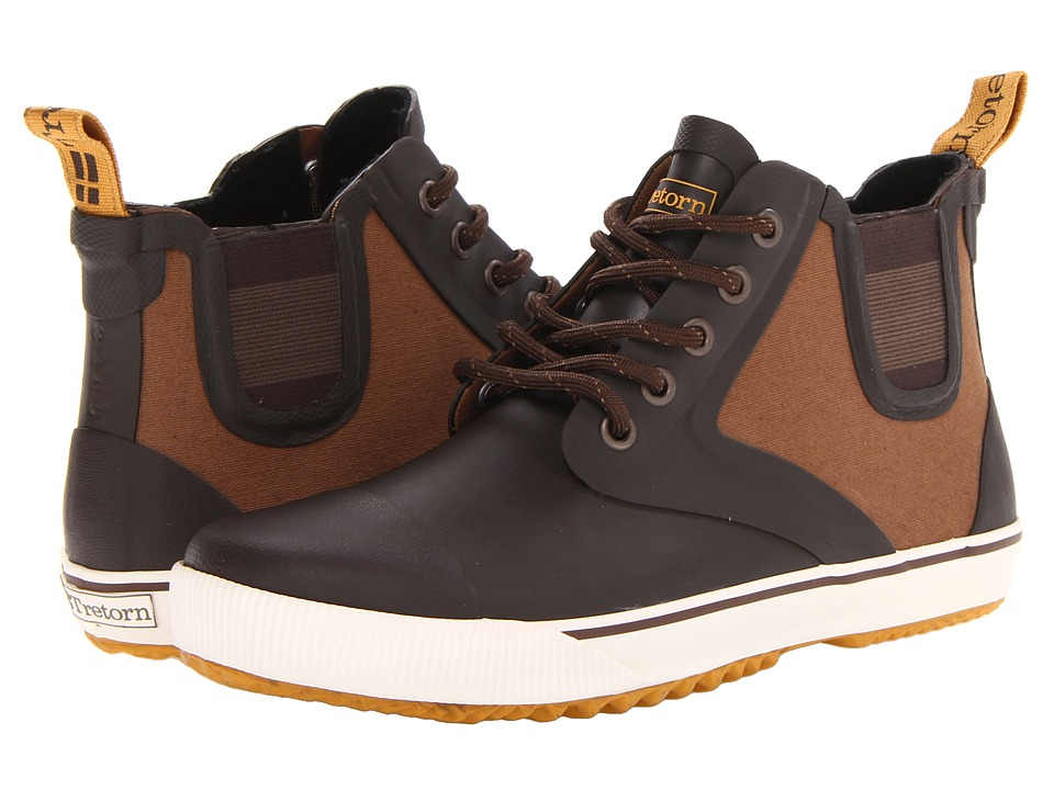 Tretorn - Gunnar Canvas (Chocolate Brown) Lace-up Boots