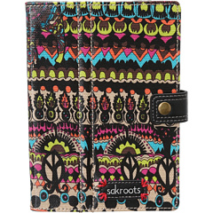 SALE! $14.99 - Save $10 on Sakroots Artist Circle Mini Tech Folio (Neon One World) Bags and Luggage - 40.04% OFF $25.00