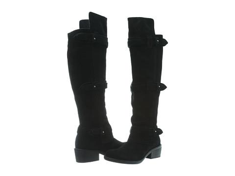 Calvin Klein Jeans Gem Suede (Black Suede) Women's Boots